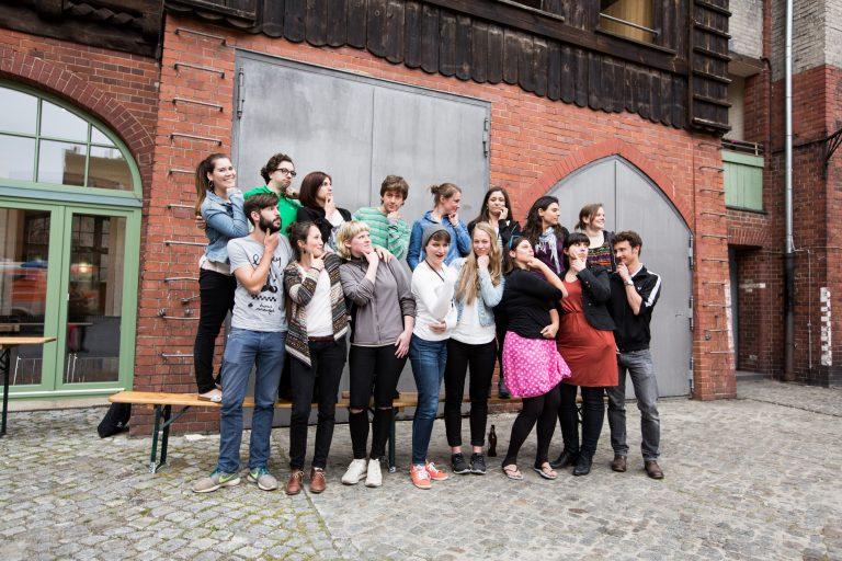 Gruppenbild der Wirkungsschmiede Berlin